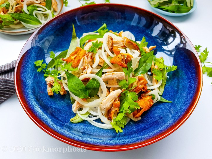 grilled cajun chicken salad with fish sauce vinaigrette