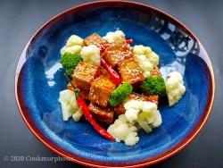 vegan chinese sesame tofu