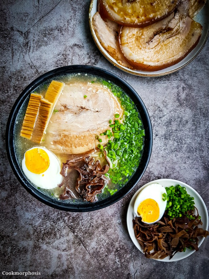 the best tonkotsu ramen from scratch