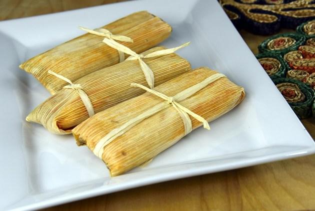 Arrange the Tamales