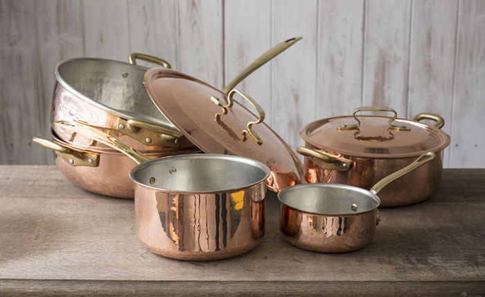 things to look for to find the best copper cookware - Copper Cookware Set