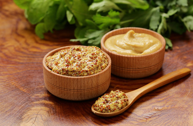 Horseradish Substitute - Mustard