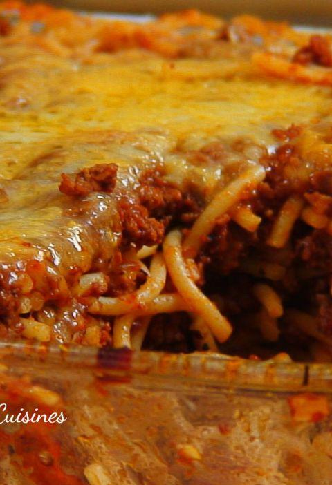 baked saghetti