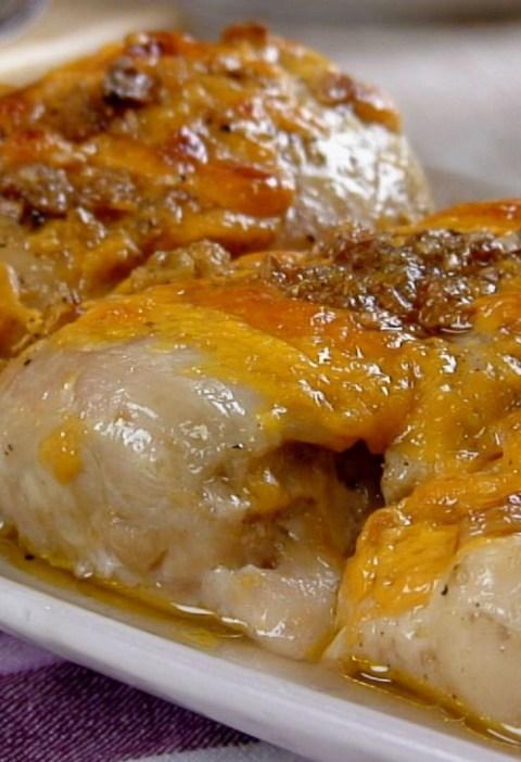 garlic cheese chicken