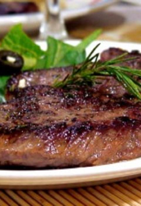 pan seard steak