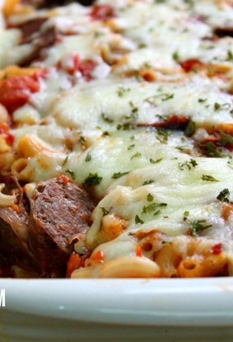 italian sausage caerrole