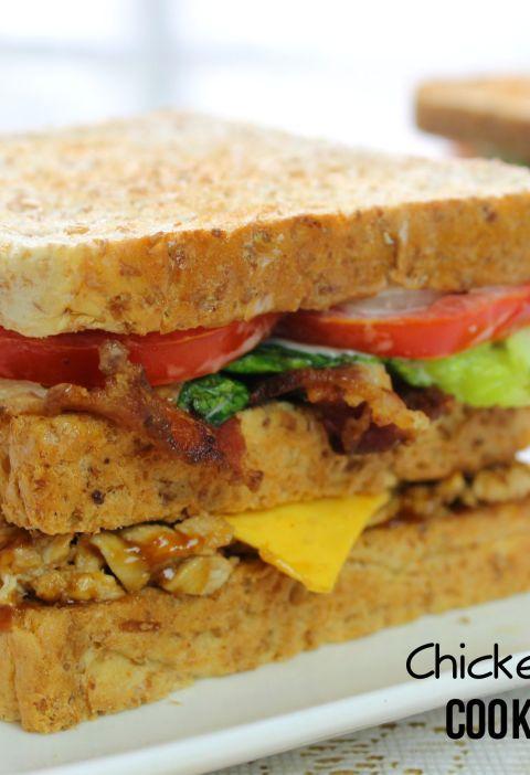 double decker chicken sandwich