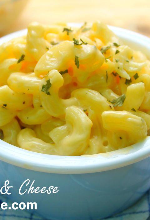 nobake mac and cheese