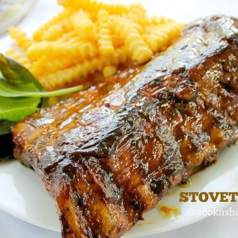 stove top ribs