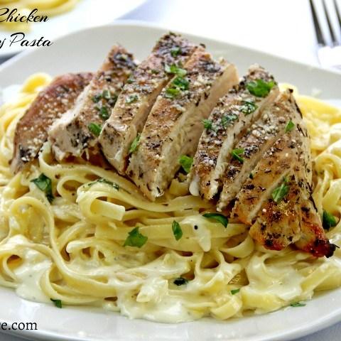 grilled chicken pasta