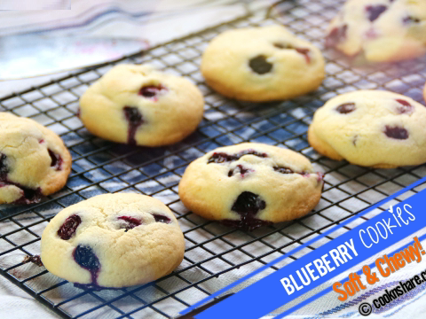 blueberry cookies