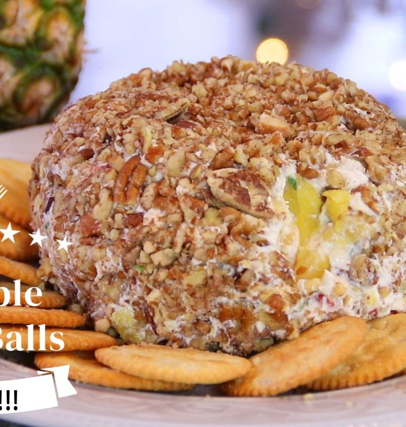 pineapplecheeseball