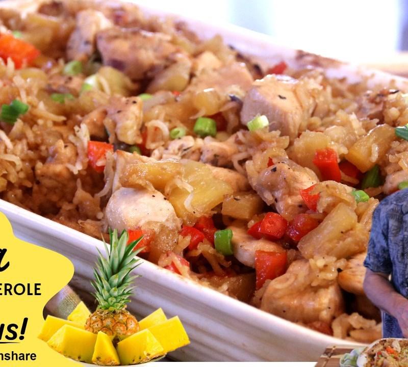 aloha chicken and rice casserole