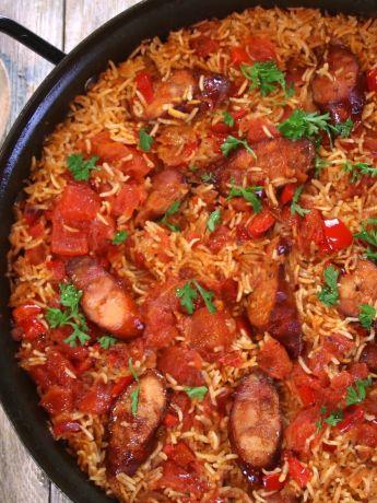 chorizo rice