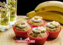 مافین موز | Banana Muffins