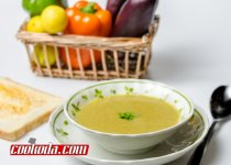 سوپ عدس و بادمجان | Eggplant & Lentil Soup