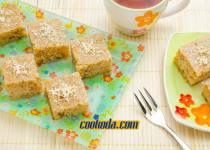 کیک گردو و عسل یونانی | Greek Walnut and Honey Cake