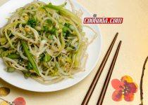 سالاد جوانه ماش | Mung Sprout Salad
