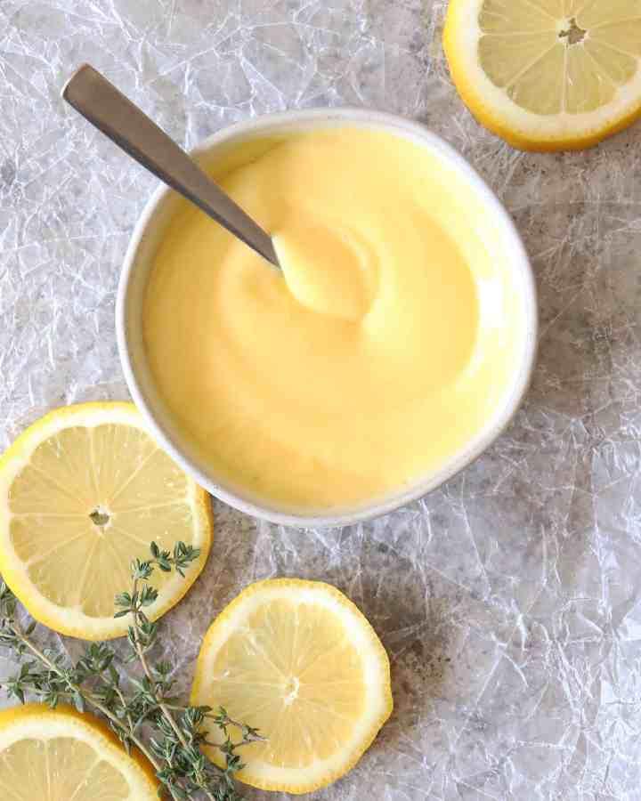 lemon curd for lemon curd ice cream