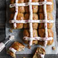 Healthyish Hot Cross Buns