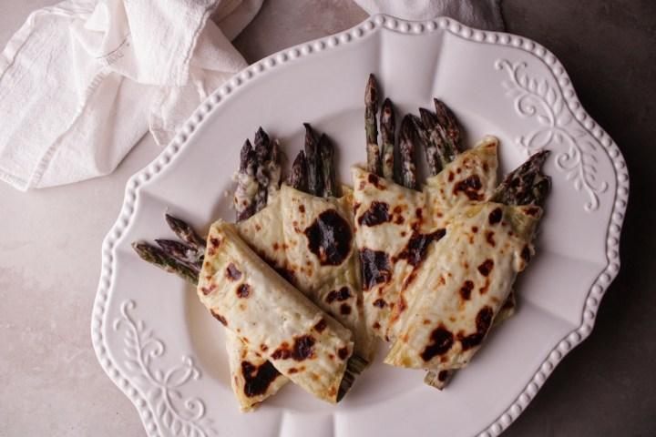 asparagus manicotti