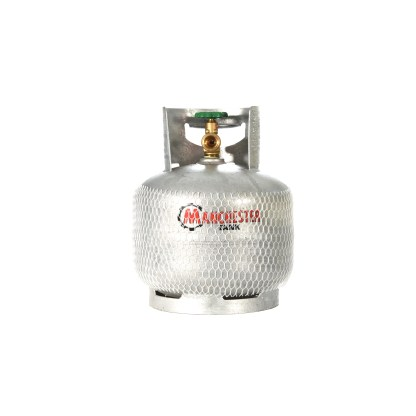 Galvanised Gas Bottle