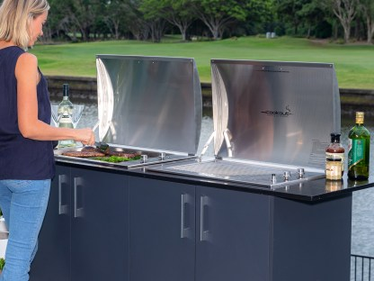 Infinity Grill BBQ built-in
