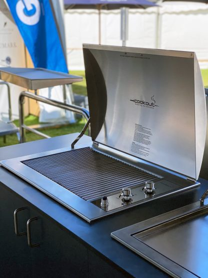 Australian made Gas Built In Stainless Grill Infinity BBQ