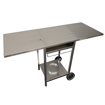 Australian made Stainless Steel BBQ Trolley