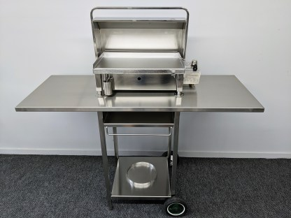 Australian Stainless BBQ Trolley for Cookout BBQ's