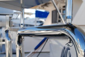 Stainless removable BBQ and Bait Board Pins for Duckboard Rail