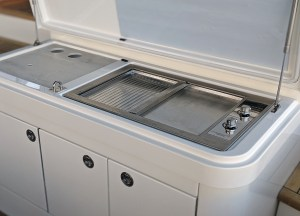 electric marine BBQ - Epicure built-in BBQ by Cookout BBQ's