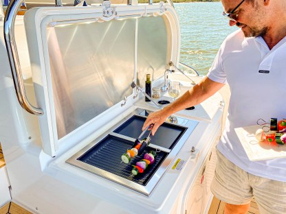 Stainless Epicure Electric Boat BBQ Riviera