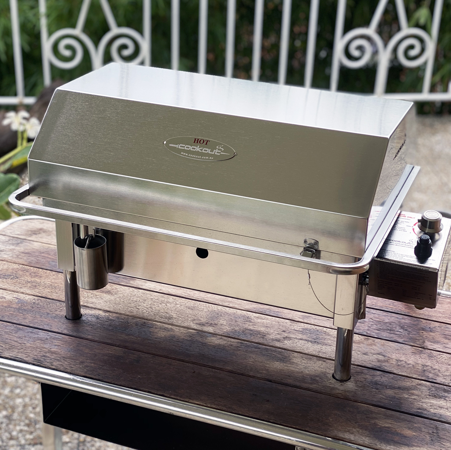 Australian made stainless steel Classic Gas BBQ