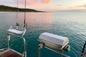 best flat plate boat bbq Australia
