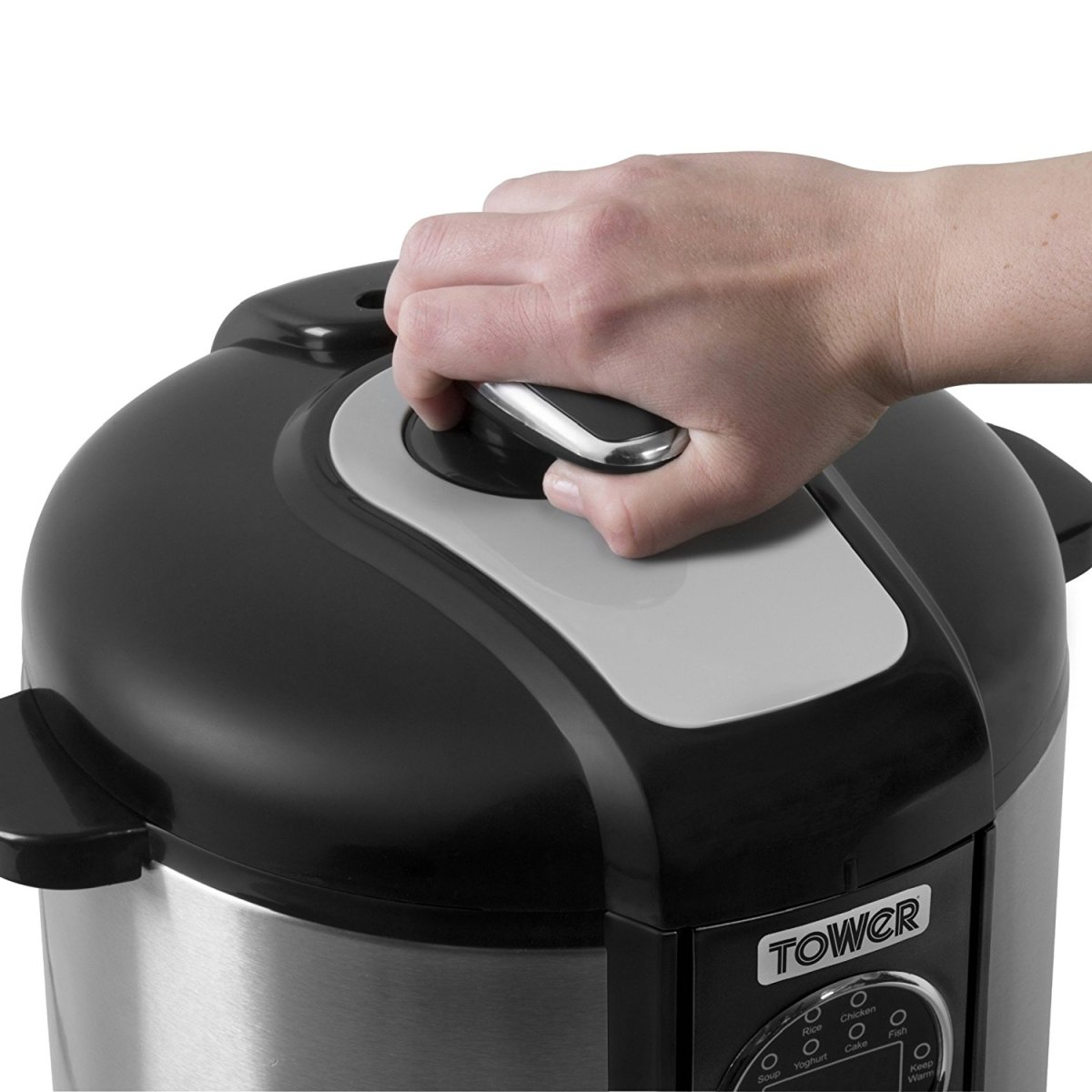 Tower Electric Pressure Cooker Review - T16008 with Smoker