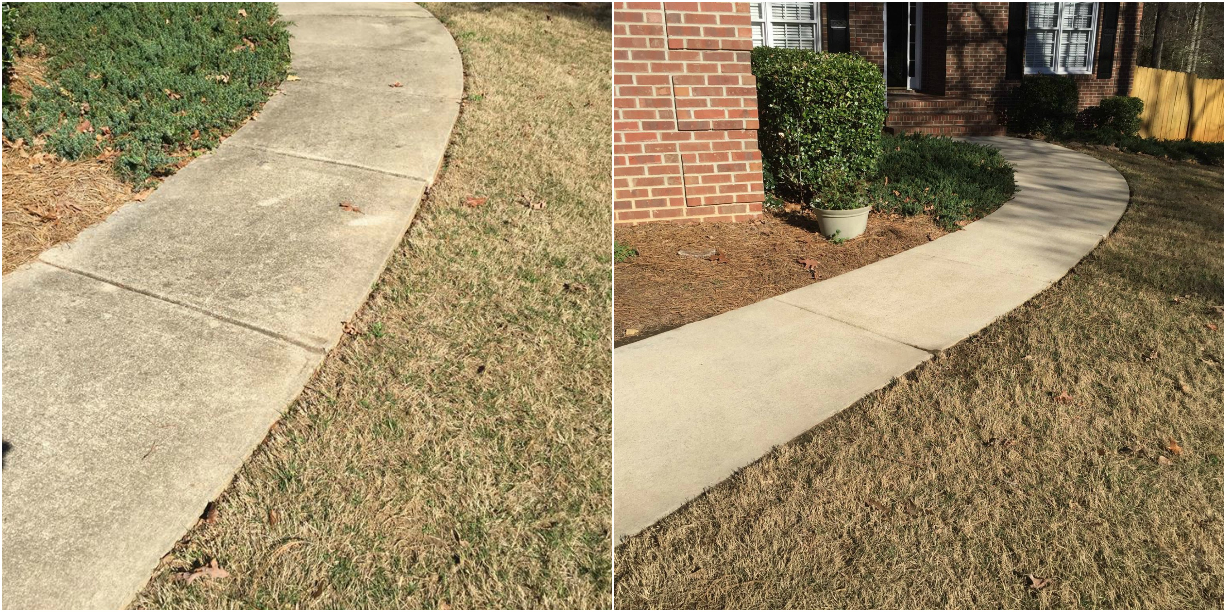 Pressure Washing Sidewalks Bogart GA