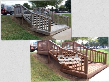 Wood and deck restoration