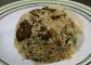 Spinach Taro root Pulav