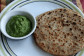 Drumstick Leaves and Paneer Paratha