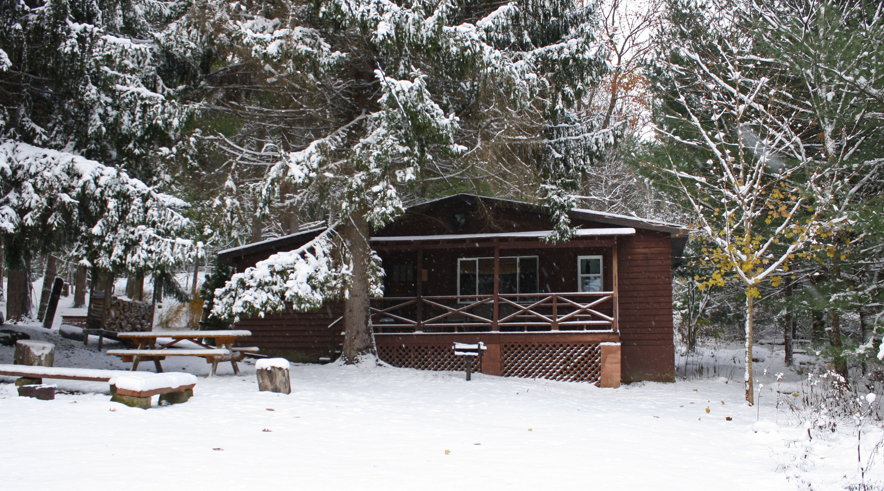 cabin lakeview winter rentals cabins bunk lopstick conn house first