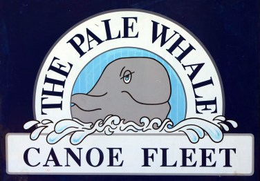 Pale Whale Sign
