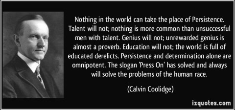 Coolidge persistence