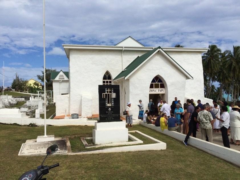Cook Islands Church 08-02-15