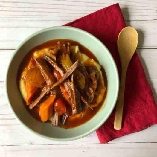 Italian Pot Roast with Polenta2