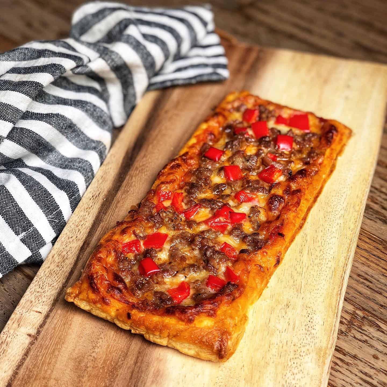 Copycat Pepperidge Farms Croissant Pizza
