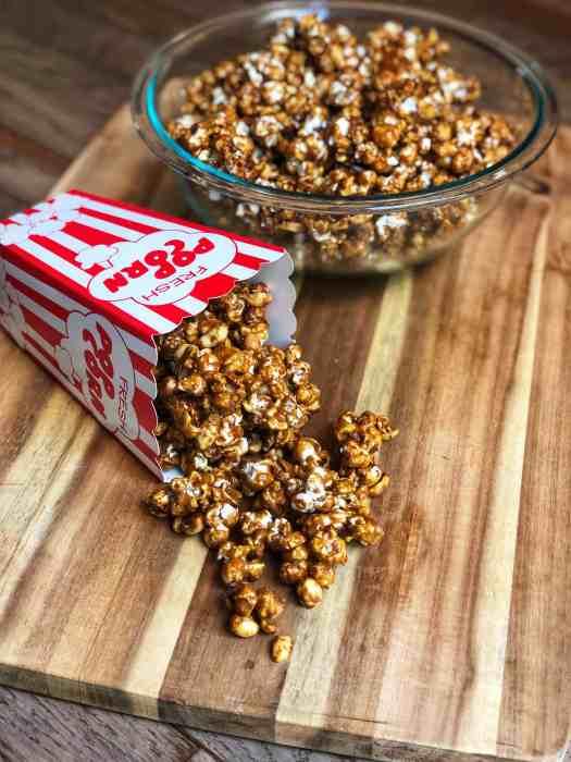 An Overflowing Box of Homemade Cracker Jacks