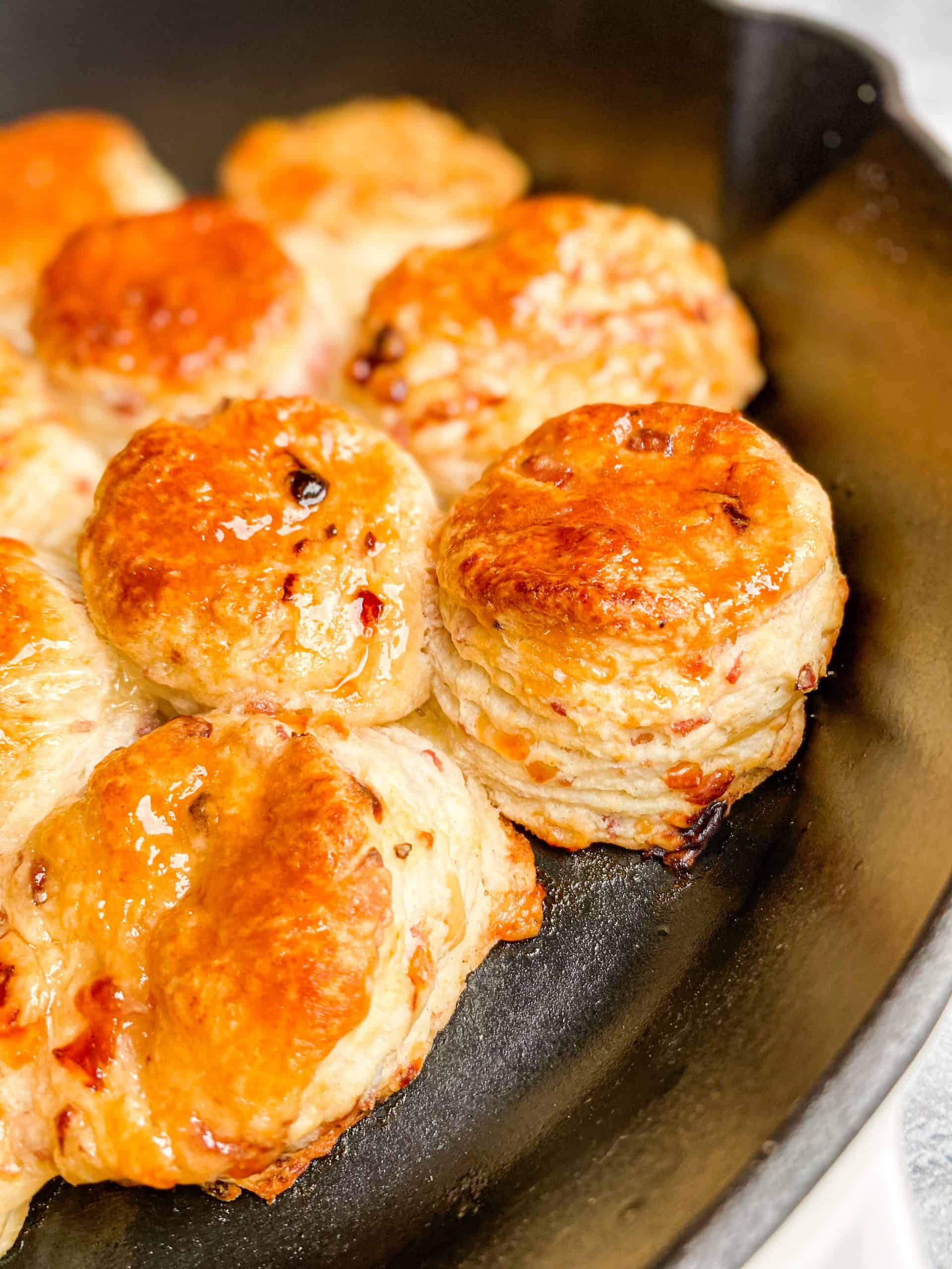 Ham and Swiss Buttermilk Biscuits