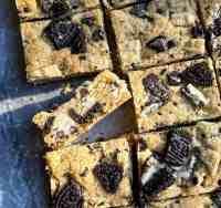 Cookies and Cream Blondies