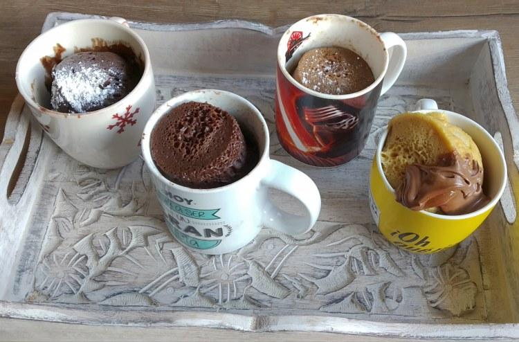 Receta Mug Cake